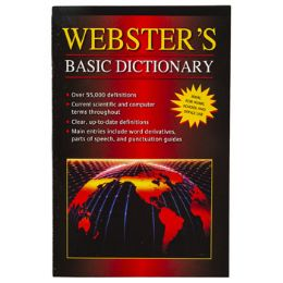 60 Units of Dictionary Webster's Basic - Books