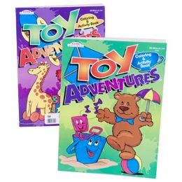 120 Units of COLORING BOOK TOY ADVENTURES - Coloring & Activity Books