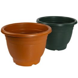 12 Units of Planter Round 17.0d X 12.0h - Garden Planters and Pots
