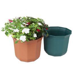 "24 Units of Planter 9.5x 8""h Decagon Shape"" - Garden Planters and Pots"