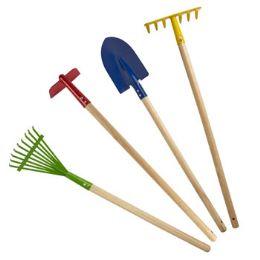 12 Units of GARDEN TOOLS KIDS 28-29IN 4AST - Garden Tools