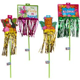 36 Units of Luau Yard Sign 4ast - Hanging Decorations & Cut Out