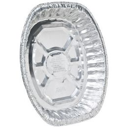 100 Units of Aluminum Roaster Giant Oval Rack - Aluminum Pans