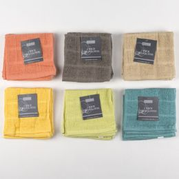 72 Units of Kitchen Dish Cloth 2pk 12x12 - Kitchen Linens