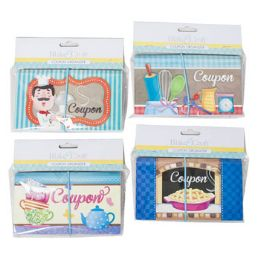 48 Units of Coupon Organizer 12pocket 4ast Designs 12pc Mdsg Strip Elastic - Storage Holders and Organizers