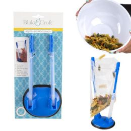 24 Units of Baggy Rack Adjustable Bag Holder $3.99 Retail B&c Tcd - Kitchen & Dining