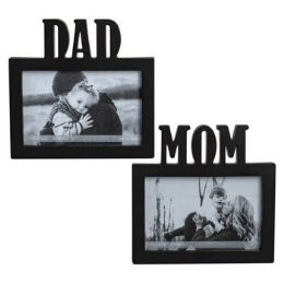 36 Units of Photo Frame Mom/dad Black 4x6 - Picture Frames