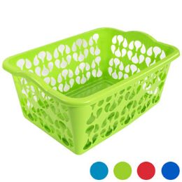 12 Units of Laundry Basket Rectangular - 23.25 X 17 X 10.25 - Laundry  Supplies