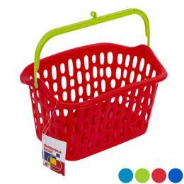 36 Units of Basket W/plastic Handle & Hook - Baskets