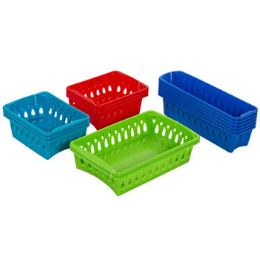 75 Units of Baskets 3 Sizes 4 Colors In Pdq - Baskets