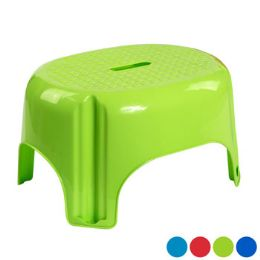 12 Units of Step Stool Large 200lb Capacity 4 Colors In Poly Bag #2911 - Stools