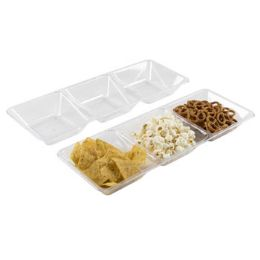 36 Units of Serving Tray 3-Section 16 X 6 in - Serving Trays
