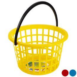24 Units of Basket Round W/handle - Baskets