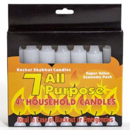 48 Units of Candles All Purpose 4 Inch 7pk - Candles & Accessories