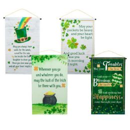 36 Units of Banner Irish Blessings 12x20in - St. Patricks