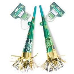 48 Units of St Patrick Party/parade Horn - Party Novelties