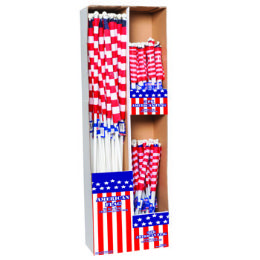 96 Units of Flag American Displayer - 4th Of July