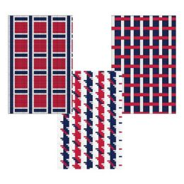 48 Units of Placemat Paper Red/white/blue - 4th Of July