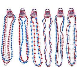 36 Units of Necklace Patriotic 6ast - Necklace