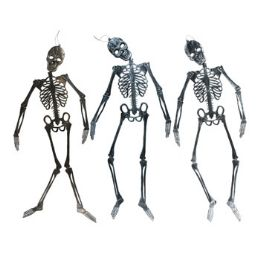 12 Units of Skeleton Decor 46in Jointed - Hanging Decorations & Cut Out