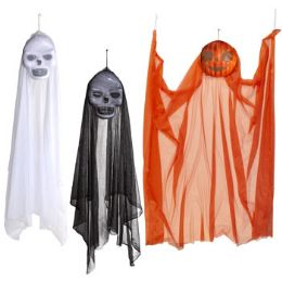24 Units of Hanging Decor Floating Ghoul 4ft - Hanging Decorations & Cut Out