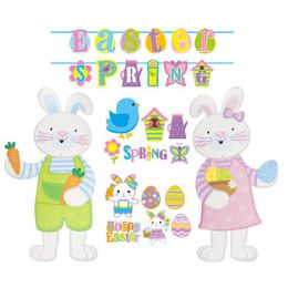 72 Units of Cutouts/banners Easter/spring - Easter