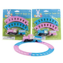 24 Units of TRAIN PLAYSET EASTER WINDUP 2AST - Easter