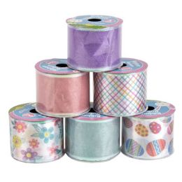 48 Units of RIBBON WIRE SPRING/EASTER 6AST - Easter