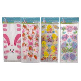 96 Units of LOOT BAG CELLO EASTER 15CT - Easter