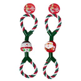 26 Units of Dog Toy Christmas Rope Tug - Christmas Decorations