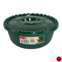 72 Units of Bowl 25 Oz Scalloped Edge/cover W/fruit Dsgn 3 Christmas Clr Pdq - Kitchen & Dining