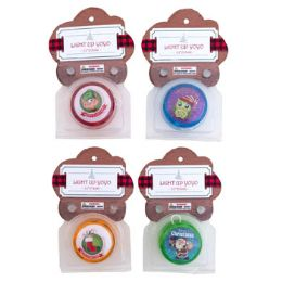 36 Units of YOYO XMAS LIGHTUP 2.16IN 4ASST - Christmas Novelties