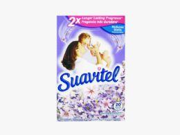 15 Units of SUAVITEL DRYER SHEETS 20CT LAVENDER - Laundry  Supplies