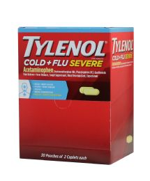 30 Units of Tylenol Cold And Flu 2pk Box 30ct - Pain and Allergy Relief
