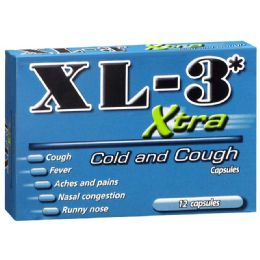 12 Units of XL-3 Coldandsore Throat 12 ct - Pain and Allergy Relief