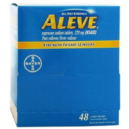 48 Units of Aleve Box 1 pk - Pain and Allergy Relief