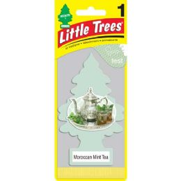 24 Units of Little Tree Morocan Mint Tree Car Freshener 1's - Air Fresheners