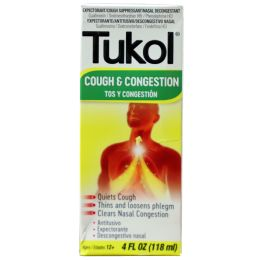 6 Units of Tukol Multi Symptom Cold 4oz - Pain and Allergy Relief