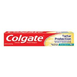 24 Units of Colgate 2.5 Oz T/paste Tartar Protection Whitening - Toothbrushes and Toothpaste