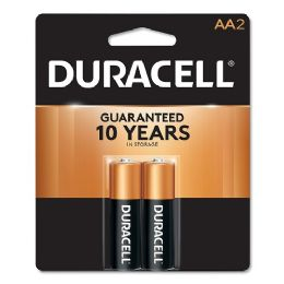 56 Units of Duracell Aa 2 Pk Coppertop Batteries - Electronics