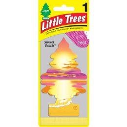 24 Units of Little Tree Sunset Beach Car Freshener 1's - Air Fresheners