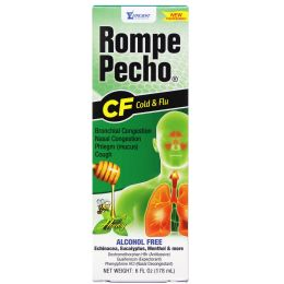 24 Units of Rompe Pecho Cold And Flu 6oz - Pain and Allergy Relief