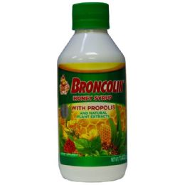 6 Units of Broncolin Cough And Cold Relief 11.4 oz - Pain and Allergy Relief