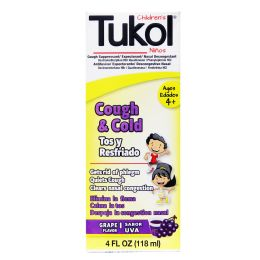 12 Units of Tukol A+ Child Grape 4oz - Pain and Allergy Relief