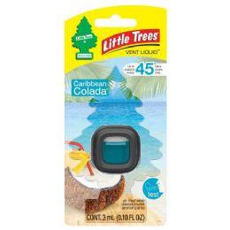 24 Units of Little Tree Vent Caribbean Colada Liquid - Air Fresheners