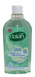 24 Units of Dalan Liq Soap Fresh Cucumber 13.5oz Flip Top - Soap & Body Wash