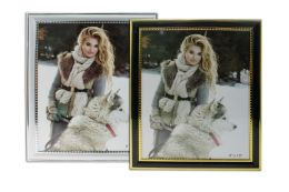 24 Units of Plstc Photo Frame 8x10 Astd Colors - Picture Frames