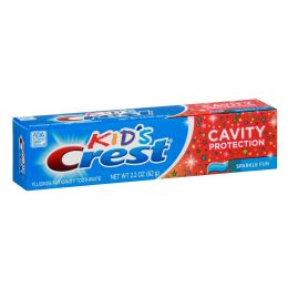 24 Units of Crest 100 Ml Kids T/paste Cavity Protection Gel - Toothbrushes and Toothpaste