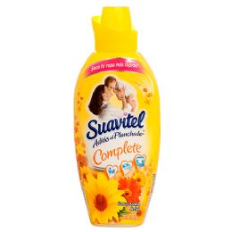 12 Units of Suavitel 850 Ml Aroma Fresca Primaveral (yellow) Fabric Softener - Store
