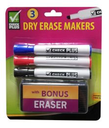 48 Units of MARKER WITH 3 ERASER - Markers